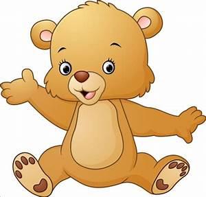 Cute teddy bear vector illustration 07 - Vector Animal ...