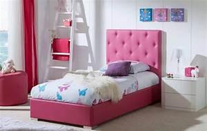 Lit Une Place Enfant : t te de lit capitonn e au meilleur prix ~ Melissatoandfro.com Idées de Décoration