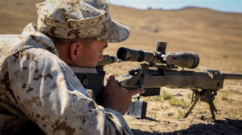 Marines Aim For Success In Pre-scout Sniper Course> The