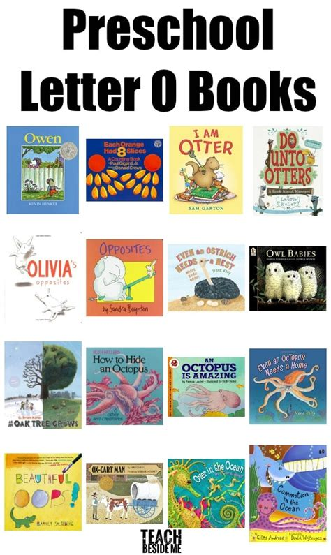letter of the week preschool letter o activities teach 187 | Preschool Letter O Books