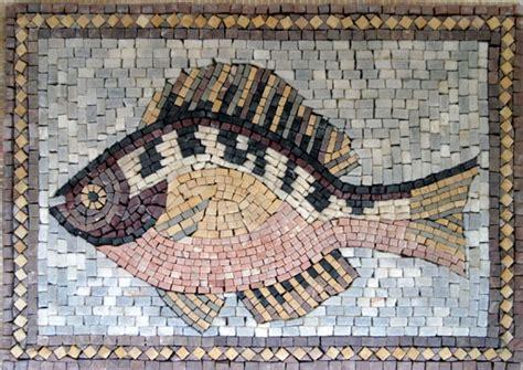 handmade animal themed marble mosaic tile venice mosaic