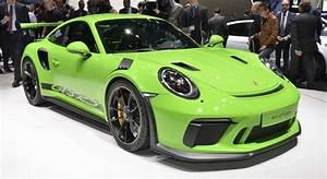 Porsche Carrera Gt Occasion : nouvelle porsche 911 gt3 rs 2018 infos et photos ~ Gottalentnigeria.com Avis de Voitures