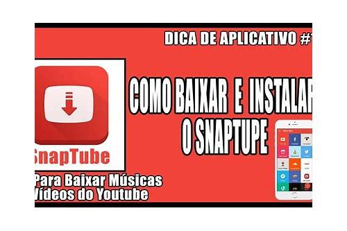 baixar o youtube para o video itunes