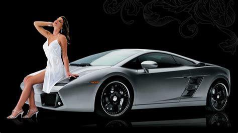 Cars And Women Desktop Wallpaper