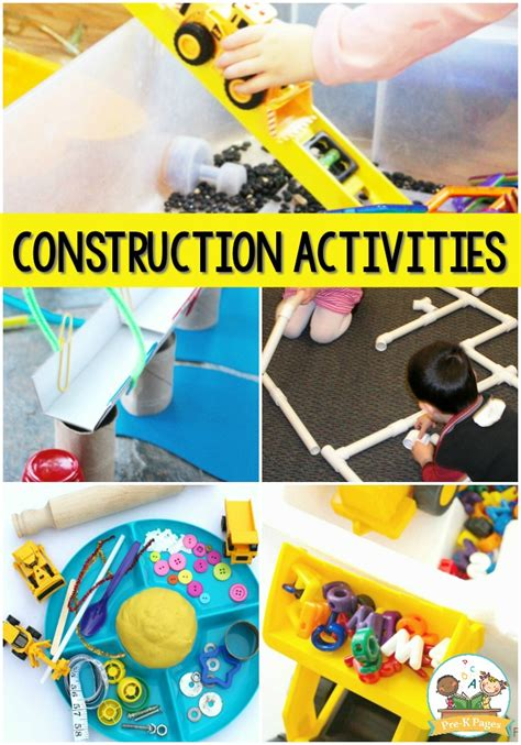 activities for a construction theme pre k pages 668 | Construction Activities for Preschool