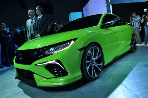 Surprise 2018 Honda Civic Concept At Ny Auto Show Previews