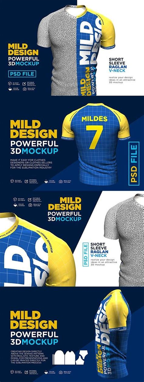 With our collection of the best free hoodie mockups, you can put your designs on display for everyone to enjoy. Raglan T-Shirt - 3D Mockup - Free PSD Templates | Mockup ...