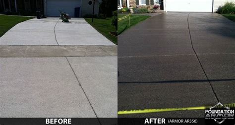 how to seal a concrete driveway concrete driveway sealers