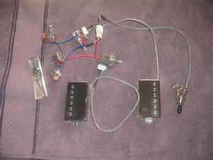 Epiphone Classic Plus Probucker Pickups  Wiring Harness