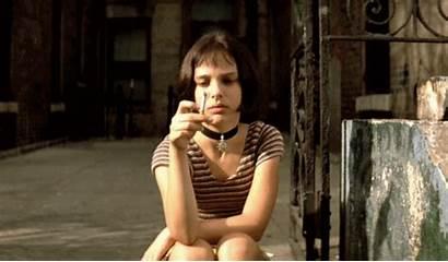 Leon Professional Mathilda Portman Natalie Smoking Gifs