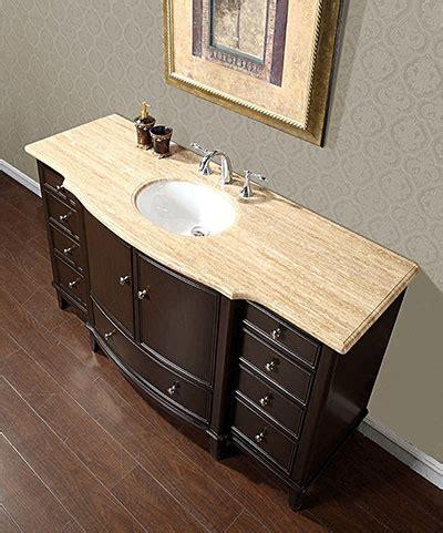 """Silkroad 60"""" Floating Single Sink Bathroom Vanity Espresso"""