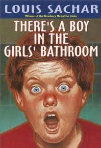 Rsultat dimages pour theres a boy in the girls bathroom