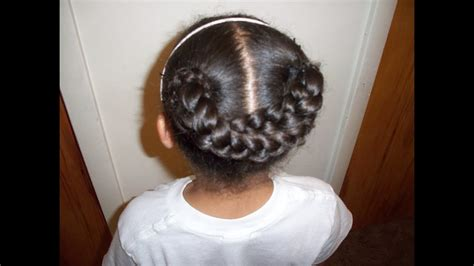 Braided Hairstyles For Kids YouTube