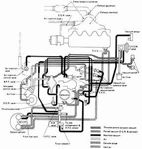 85 Nissan Z24 Vacuum Diagram
