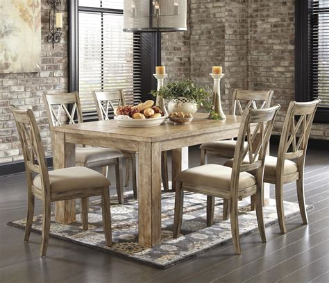 ashley mestler dining table signature design by ashley mestler 7 piece table set with