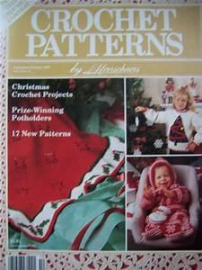 Christmas Tree Pattern 1980s Vintage Herrschners Crochet Patterns Magazine