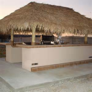 Outdoor Kitchen with Palapa