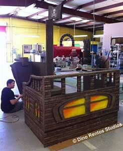 Pirate Party Ship Foam Prop-Set - Dino Rentos Studios, INC