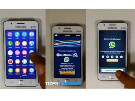 samsung tizen powered z1 smartphone will access to many android apps talkandroid