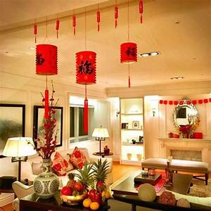 Best, Living, Room, Design, And, Decoration, To, Make, Chinese, New