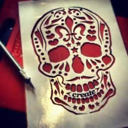 Sugar Skull Pumpkin Stencils Free by Best Photos Of Sugar Skull Template Simple Sugar Skull