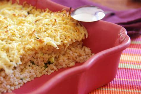 cuisiner boulgour recette gratin de boulgour aux courgettes 750g