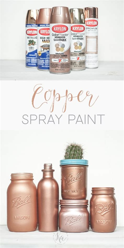 25 best ideas about copper spray paint on