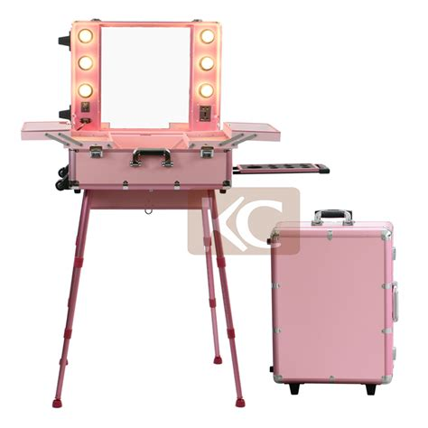 professional makeup vanity with lights professional aluminum makeup case with lighted mirror