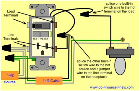 Electrical How Wire Gfci Switch Combo Home
