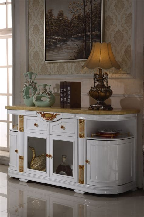 White Living Room Storage Furniture by White Wooden Console Table Side Cabinet Storage Drawer