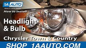 How To Replace Headlight 05