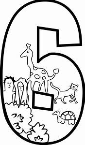 Clipart - Creation Day 6 Coloring Page