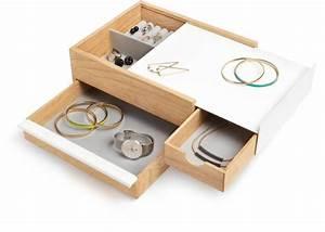 Boite A Tiroir : boite bijoux tiroir secret stowit bois clair ~ Teatrodelosmanantiales.com Idées de Décoration