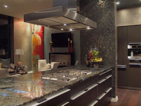 pictures of simple kitchen design w penthouse condo 7483