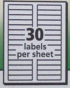 avery 8366 template word 300 avery 5366 white 5866 green file folder labels laser inkjet 2 3 quot x 3 7 16 quot ebay