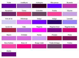 simulateur couleur chambre nuancier couleur peinture violet 31 coloris