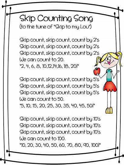 Skip Poems Poem Grade Short Counting Rhyme