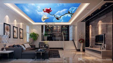 ceiling custom  wall mural high definition