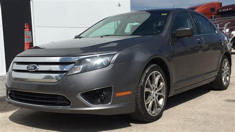 ford fusion sel awd leather heated seats alloy