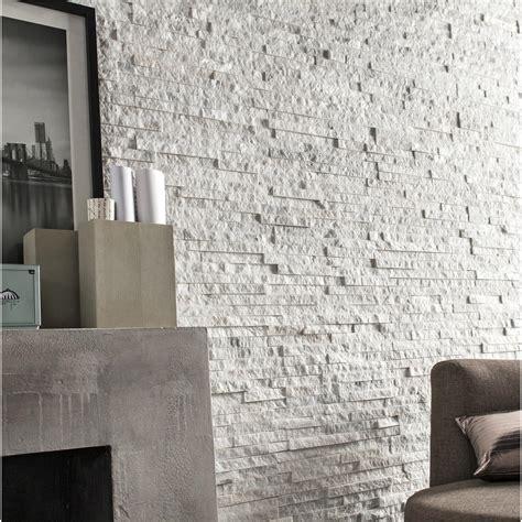 briques parement interieur blanc design de maison