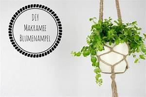 Makramee Blumenampel Diy : makramee blumenampel kn pfen handmade kultur ~ Heinz-duthel.com Haus und Dekorationen