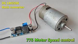 775 Motor Speed Controller Using Lm2596 Dc