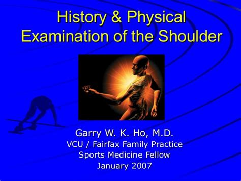 Shoulder exam studentsandresidents