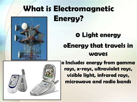 what is light energy electromagnetic energy
