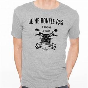 Tee Shirt Homme Humour : t shirt homme gris je ne ronfle pas je r ve que je suis ~ Melissatoandfro.com Idées de Décoration