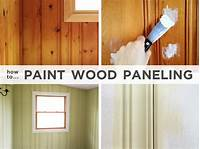 how to paint over wood paneling Painting wood paneling: Brushes, rollers and beer | Rather Square