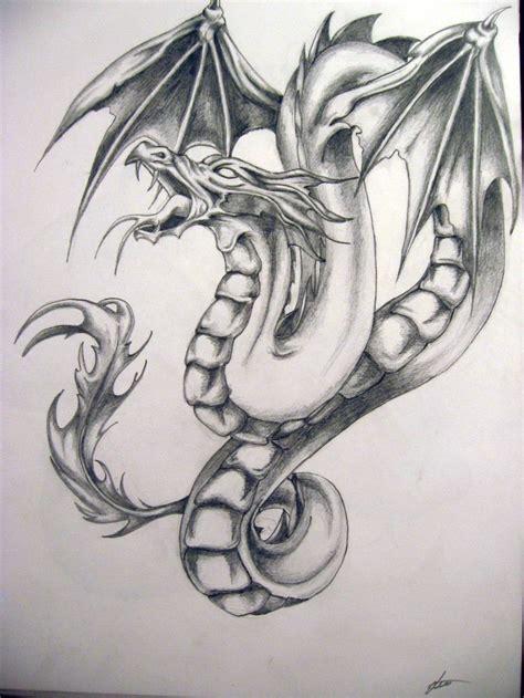 tattoo dragon pencil doodles dragon tattoo art dragon