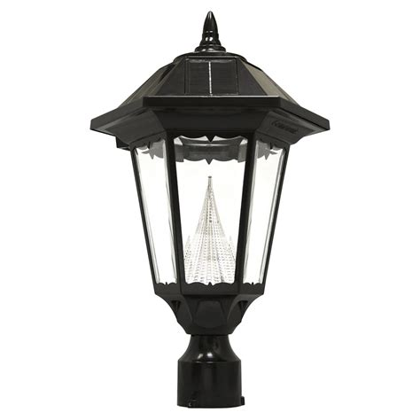 solar l post lowes outdoor lighting extraordinary solar post lights lowes