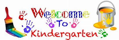 Kindergarten Welcome Clipart Clip Cliparts Registration Grade