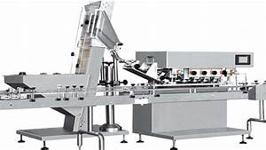 Inline spindle capping machine high speed bottles screw ...